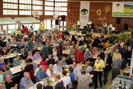 Messe023 Wilde Sau begeisterte Besucher der Naturpark Genuss Messe