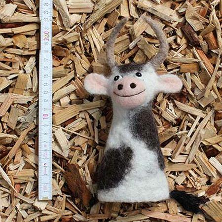 MuhdieKuh2 Beitragsbild Filz Handpuppe Muh, die Kuh