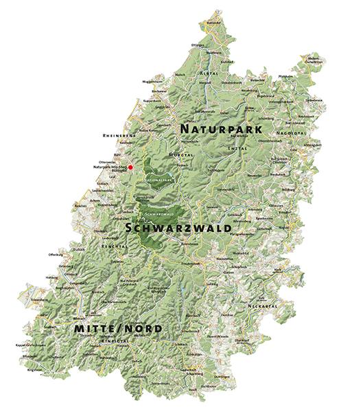 Naturpark Karte Wieder der größte Naturpark in Deutschland