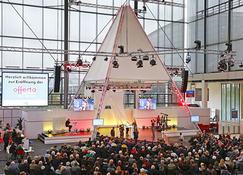 Offerta Naturpark Tag auf der Messe Offerta in Karlsruhe