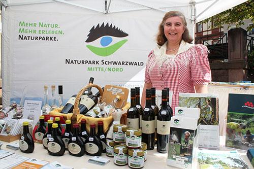 Offerta01 Naturpark Tag auf der Messe Offerta in Karlsruhe