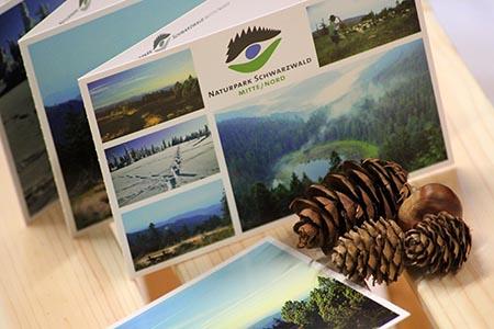 Postkarte Naturpark Postkartenserie