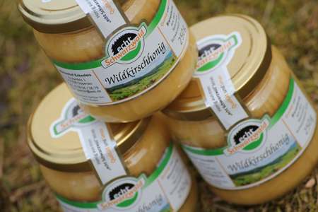 Produkt Wildkirschhonig von echt Schwarzwald