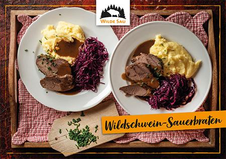 Rezept Sauerbraten Wildschwein Sauerbraten