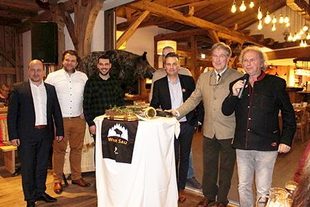 Scheune Wilde Sau begeisterte Besucher für Wildschweinfleisch