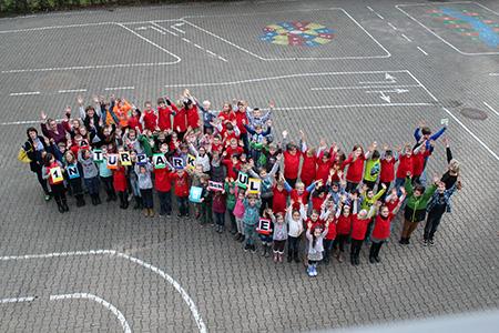 Schule033 Erste Naturpark Schule rezertifiziert