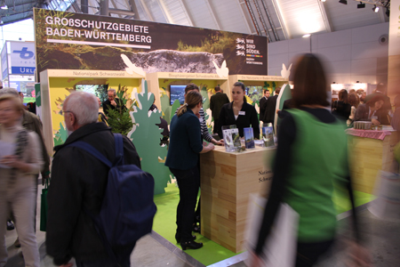 Stand Großes Interesse