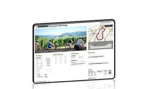 Tourenportal 500 Homepage des Naturparks in neuem Kleid