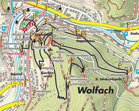Wolfach Wolfacher Schlossblick