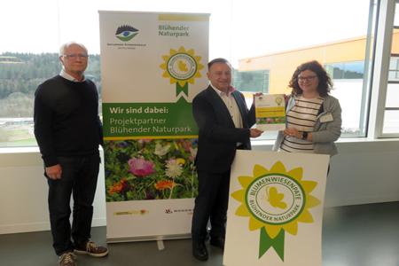 Woodward Erste Blumenwiesenpatenschaft verliehen