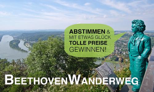 BeethovenWanderweg 3 500x300 BeethovenWanderweg nominiert für Deutschlands Schönster Wanderweg