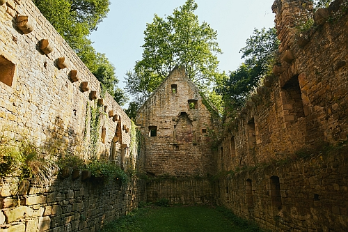 Disibodenberg groß Disibodenberg   Ruinen erzählen