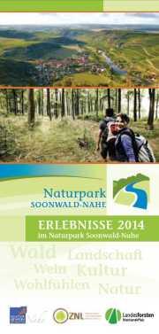 Erlebnisse 2014 Veranstaltungskalender Erlebnisse 2014 im Naturpark Soonwald Nahe