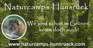 Logo naturcamps hunsrück NEU Wildnis Wochenende für Erwachsene
