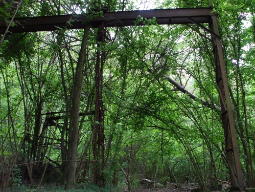 nahe der natur ansicht Von alter Industrie in die Naturidylle!