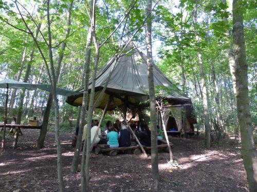 naturcamps Hunsrück Wildlife und Survival Wochenende für Erwachsene