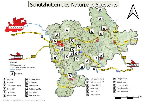 Beliebte Wanderziele im Naturpark – 23 neue Schutzhütten gebaut