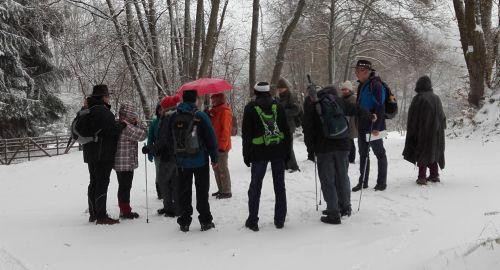 Über Wildgatter zur Burg Wildenstein 4.01.2017 1 Naturparkführer Albert Steffl
