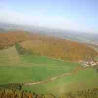 Luftaufnahmen Naturpark Spessart 26.10.2006