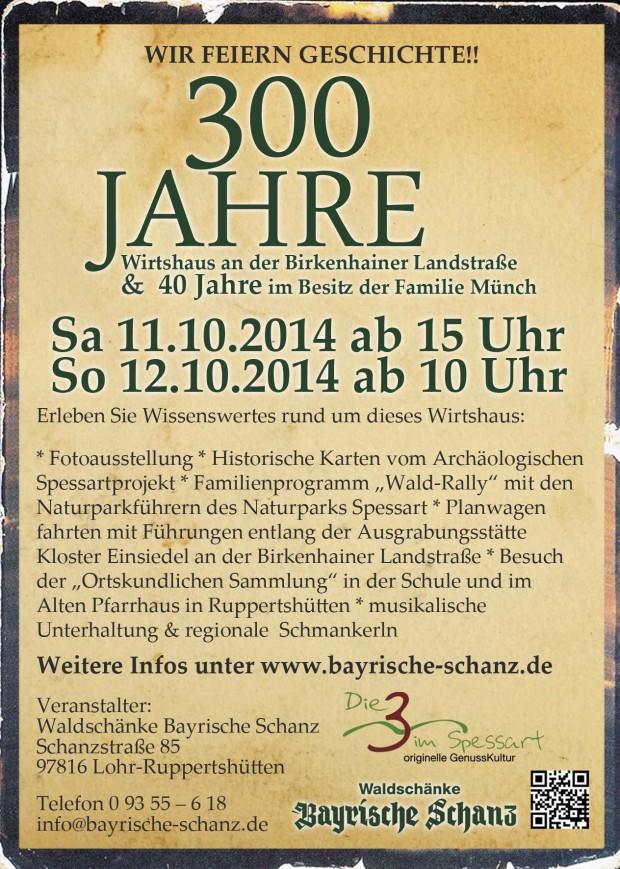 300 jahre rs 7 8 14 620x869  Waldschänke Bayrische Schanz