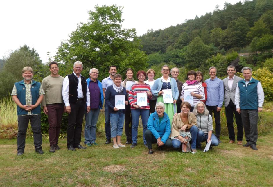 Absolventen ZNL Kurs 2019 940x644 15 neue Natur  und Landschaftsführer