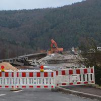 Sperrung Mainbrücke Gemünden