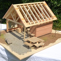 Siegermodell Schutzhüttenwettbewerb