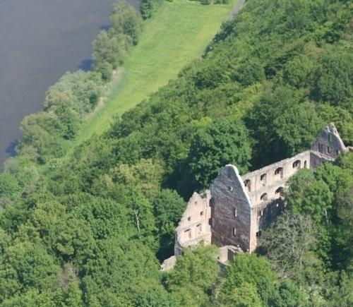 Burg Schönrain Dieter Stockmann klein1 Von Mönchen, Grafen, Förstern   der Schönrain