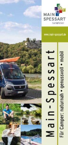 Camperbroschüre Neue Camping Broschüre und Spessart Mainland Urlaubsmagazin 2017