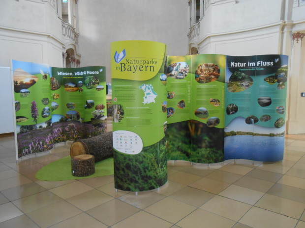 """DSCN3560 620x465 Präsentation der Ausstellung """"Naturparke in Bayern"""" in Würzburg anlässlich des 60 jährigen Jubiläums des Naturpark Spessart"""