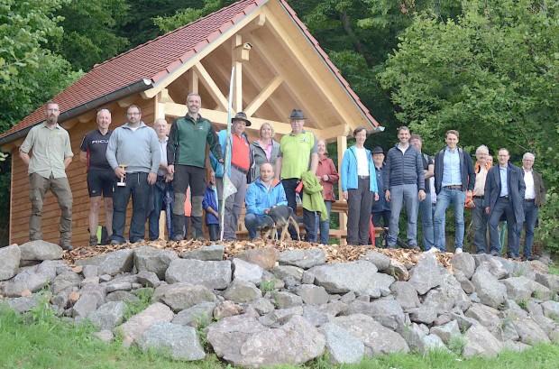 DSC 3745 620x409 23. Schutzhütte des Naturpark Spessart in Waldaschaff eingeweiht