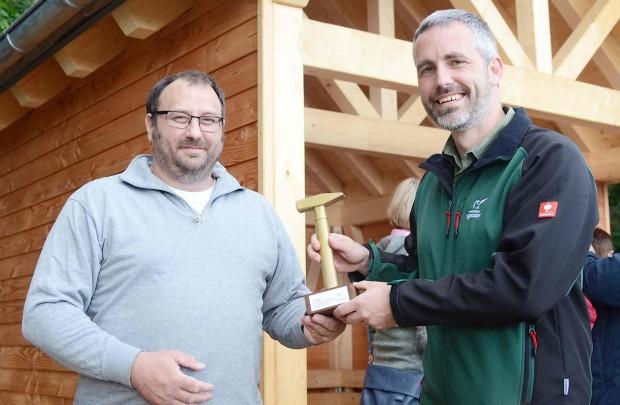 DSC 3751 620x405 23. Schutzhütte des Naturpark Spessart in Waldaschaff eingeweiht