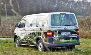 Neuer Dienstwagen des Naturparks
