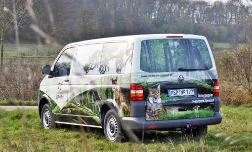 Dienstwagen Naturparkbotschafter auf 4 Rädern