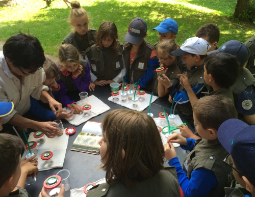 Entdecker Tour in Dorfprozelten Thomas Weigel 3 Naturpark ist Partner bei Schule macht Zeitung
