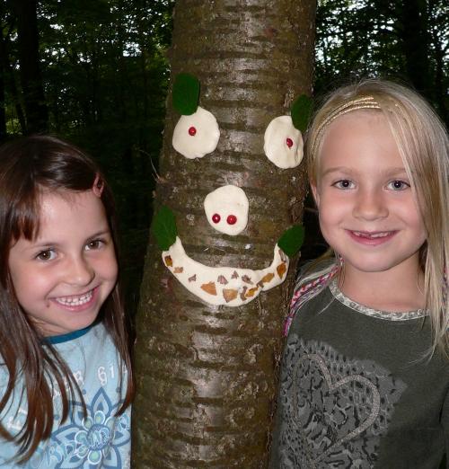 Exkursion zum Baum des Jahres Marita Prechtl 2 Naturparkführerin Marita Prechtl