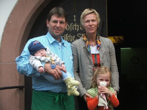 Familie Münch  Waldschänke Bayrische Schanz