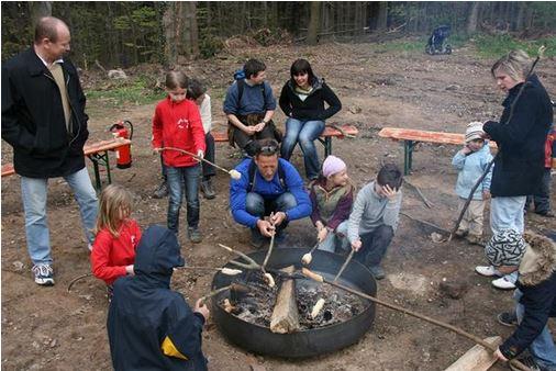 Feuerstelle Abenteuerfarm Knochengarten
