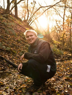 Als Ranger verbringt Andreas gerne Zeit iin der Natur. (Foto: Alessa Panarotto)