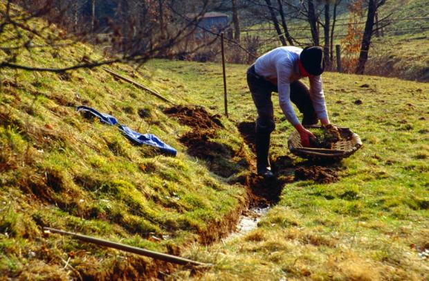 Grabenpflege Wässerwiesen Heinz Steigerwald 620x406 Naturpark sucht historische Landschaftsaufnahmen und bittet um Mithilfe