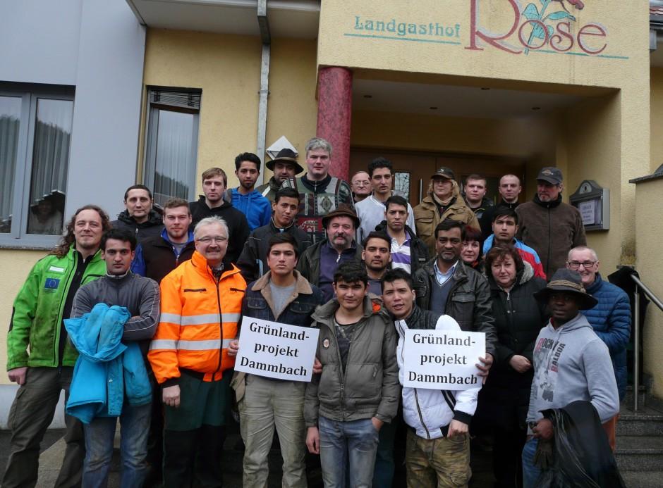 Großteil der Helfer nach der Pflegeaktion Naturpark Spessart e.V. 940x693 Erfolgreiche Aktionstage im Dammbachtal