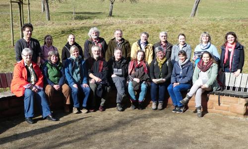 Gruppenfoto Teilnehmer Naturführer nehmen an Erste Hilfe Lehrgang teil