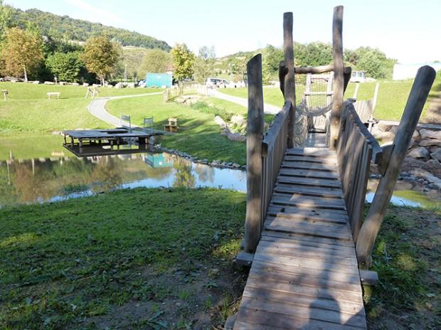 Hängebrücke Waldaschaff 620x464 Neu: Der Natur  und Wasserlehrpfad Waldaschaff