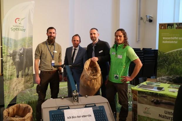 IMG 1863 620x413 Naturparke präsentieren sich im Bayerischen Landtag