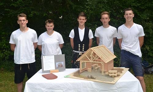 Ideenwettbewerb Gesamtsieger Vogelhaus Ideenwettbewerb Schutzhütten