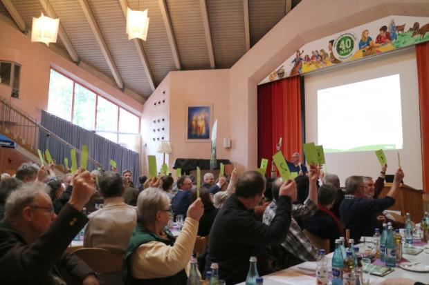 JHV märz 2019 wahl 620x413 Erfolgreiche Mitgliederversammlung des Naturparks