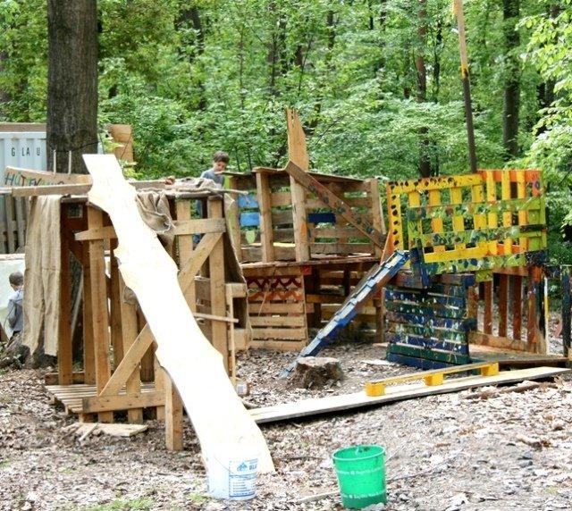 KG Spielplatz Kinder  und Jugendfarm Knochengarten am Wildpark in Haibach
