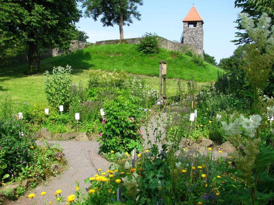 Kräutergarten im Sommer c VDNS. Jost Hoher Vogelsberg 940x704 Kann man das essen?