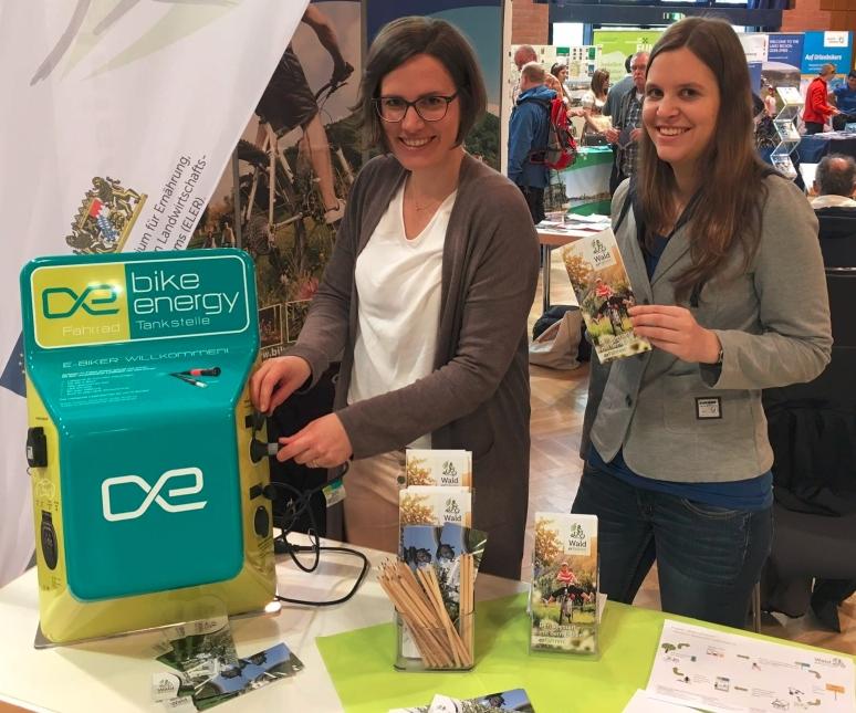 """Ladegarät Wald erFahren Feierlicher Start des Projekts """"Wald erFahren"""""""