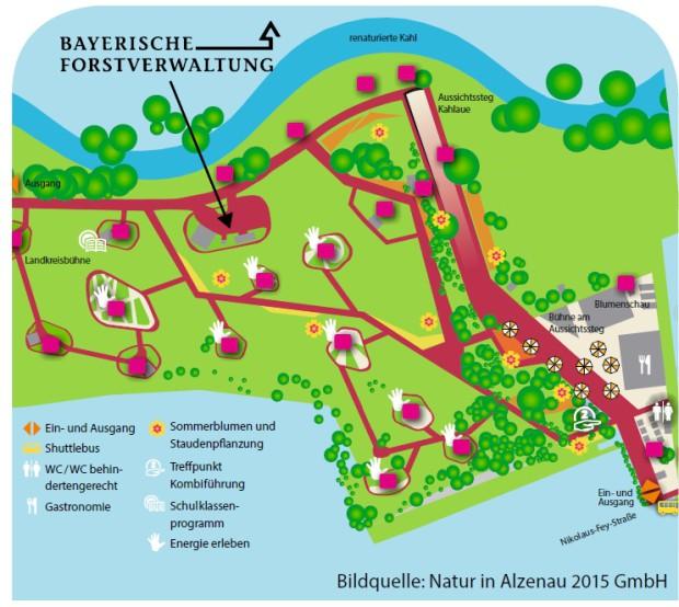 Landesgartenschaukarte 620x554 Naturpark auf der Landesgartenschau Alzenau